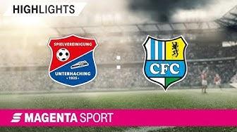 SpVgg Unterhaching - Chemnitzer FC | 8. Spieltag, 19/20 | MAGENTA SPORT