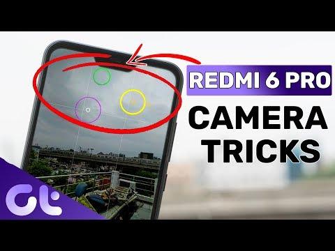 TOP 7 COOL Redmi 6 Pro Camera Tips & Tricks | Guiding Tech