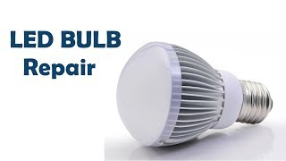 How to repair LED BULB in Hindi