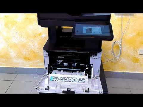 Samsung ProXpress M4580 FX Sostituzione cartuccia toner