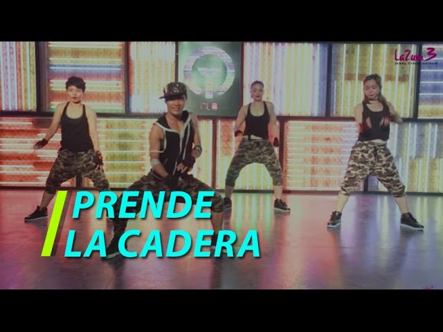Prende la Cadera | Reggaeton | Nhảy Zumba | Zumba Fitness Vietnam | Lamita