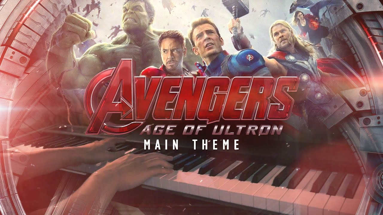 """Download Avengers 2: Age of Ultron Main Theme - """"Heroes"""" (Piano Cover)+SHEETS"""