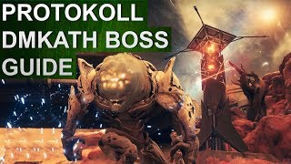 Destiny 2: Eskalationsprotokoll Boss Guide: DMKATH, die Maske (Deutsch/German)