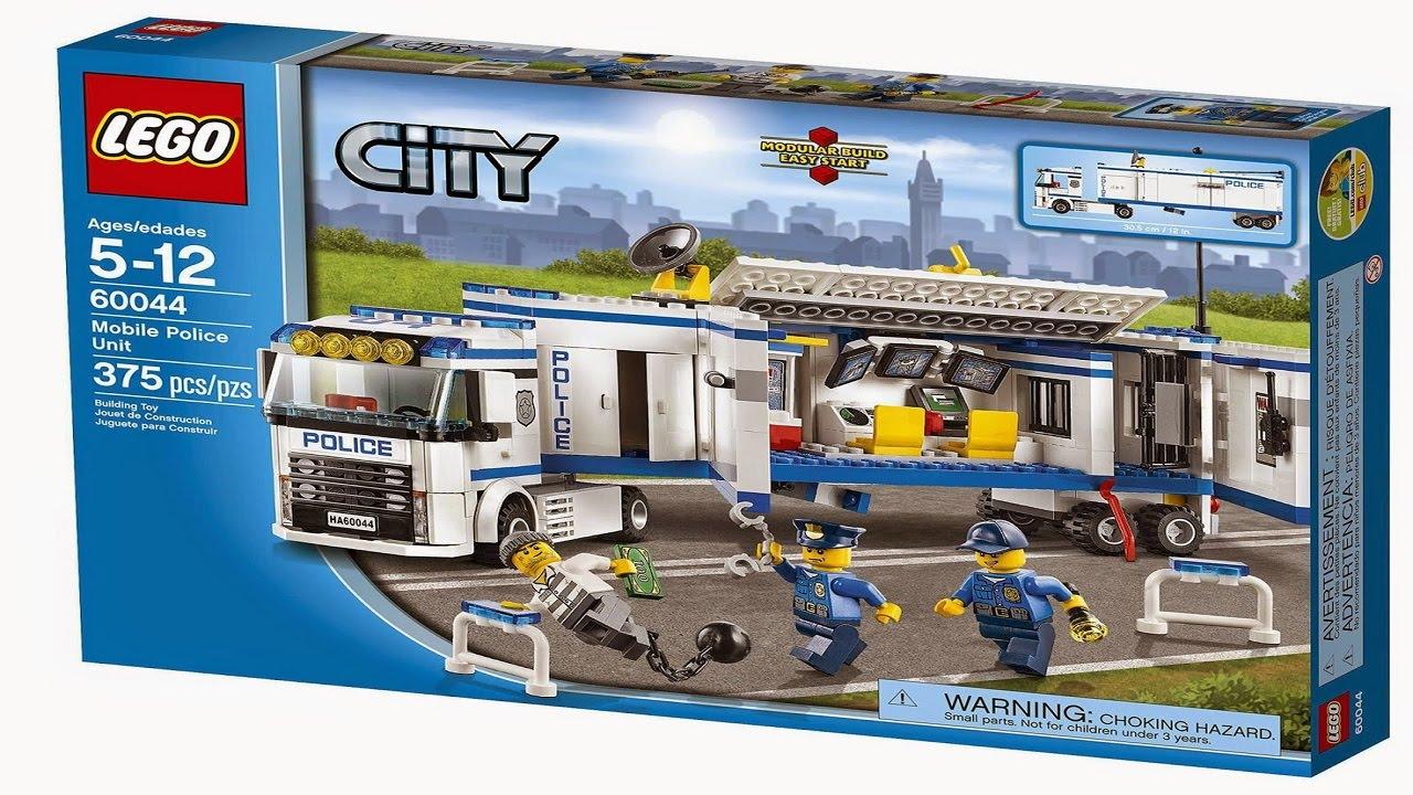 Lego 60044 Mobile Police Unit City Police Instruction Booklet