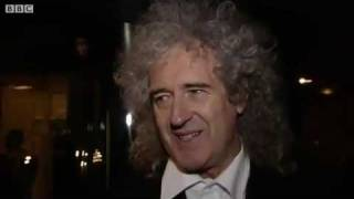 Queen star Brian May pays tribute to Freddie Mercury