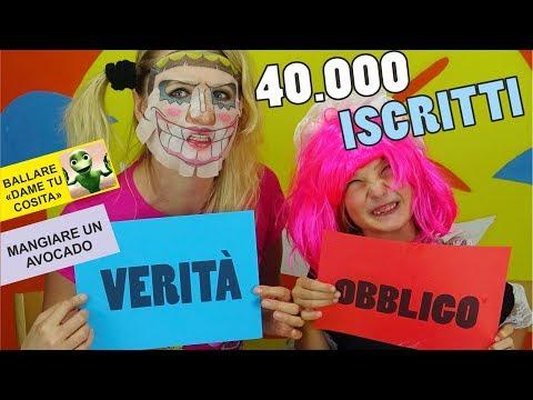 OBBLIGO O VERITA' CHALLENGE : Speciale 40.000 ISCRITTI ! HAI MAI video divertenti - Canale Nikita