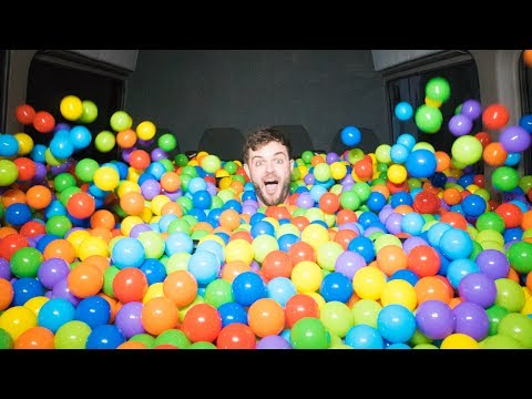 WE FIT A BALL PIT IN A PARTY BUS!