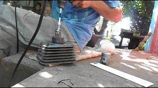 хонинговка и замена поршня на мотоцикле минск