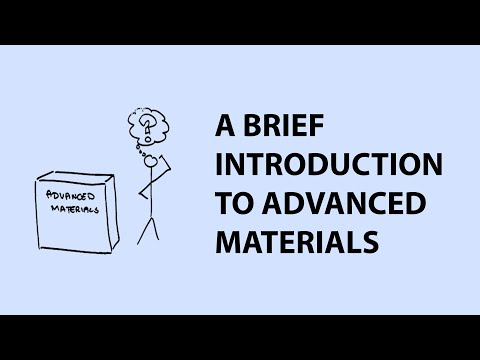 An Introduction to Advanced Materials and Nanomaterials
