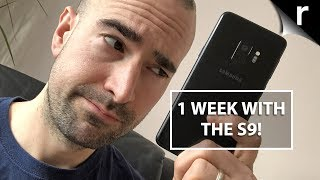 One Week with Samsung's Galaxy S9: What's it like?