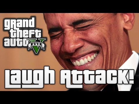 GTA V: LAUGH ATTACK! (GTA 5 Online Funny Moments) from YouTube · Duration:  3 minutes 55 seconds