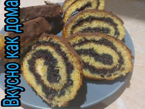 Быстрый рецепт рулета и кекса из сгущенки