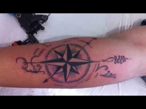 Tattoo bussola youtube for Tatoo bussola
