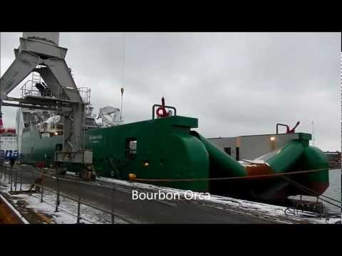 4 ships from Bourbon Offshore at Orskov Shipyard
