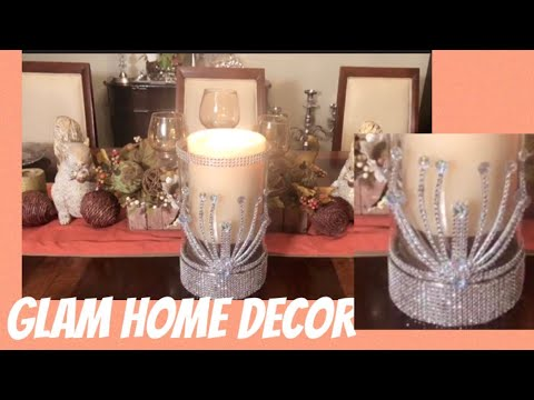 DIY Glam Home Decor: Home Decor Centerpieces Creating Elegance For Less With Faithlyn McKenzie 2019