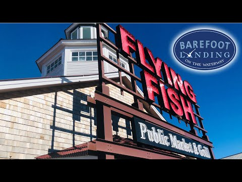 Flying Fish Restaurant At Barefoot Landing - North Myrtle Beach, SC