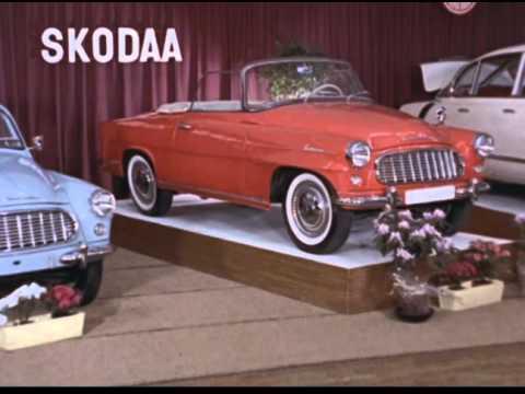 The 1960 Helsinki Auto Show