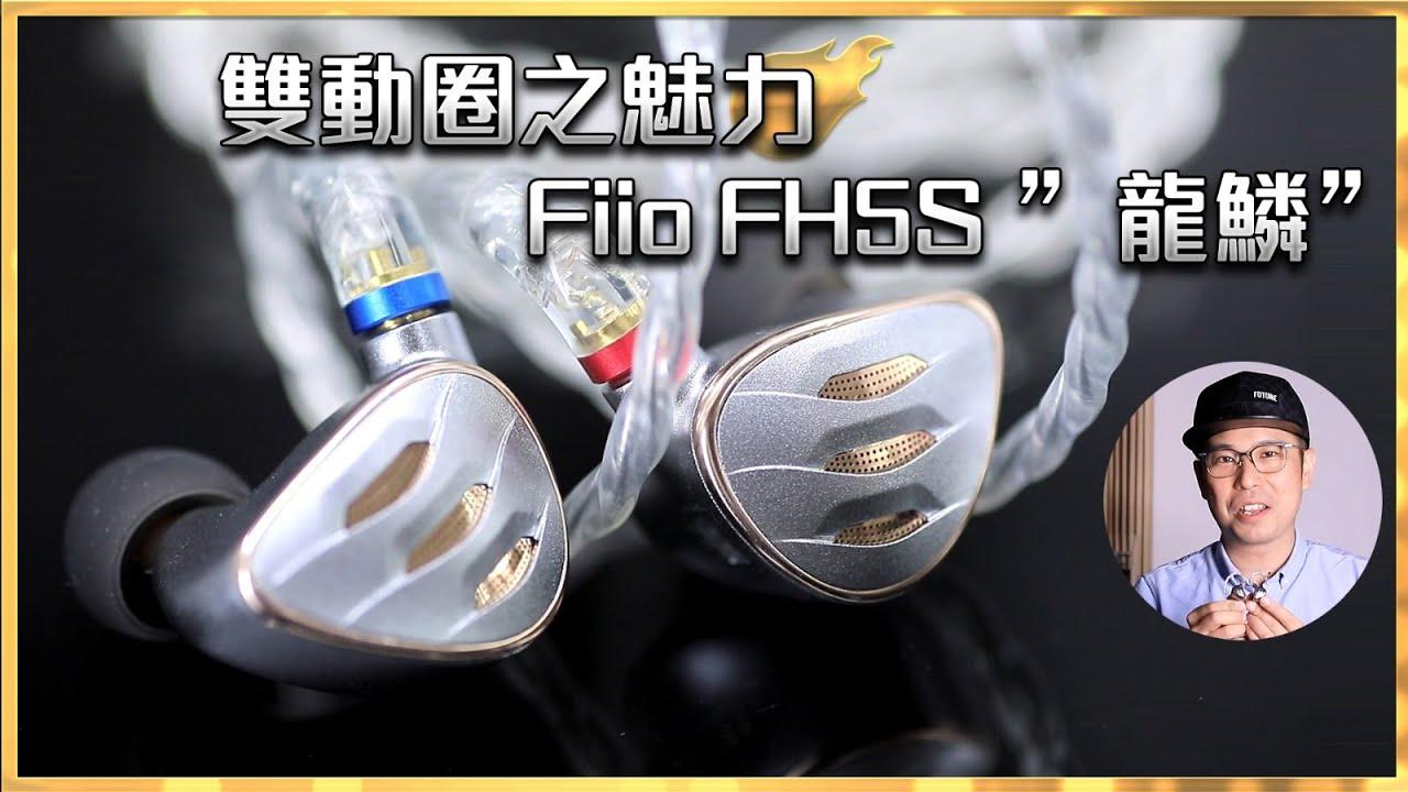 """[毒海浮沉]雙動圈之魅力 Fiio FH5S """"龍鱗"""""""