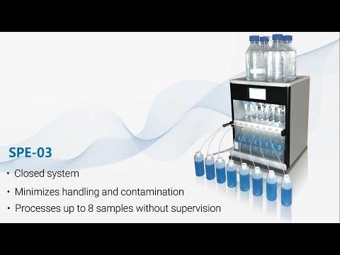 EPA Method 537 - Automate Sample Preparation For PFAS - PFOS, PFOA, Etc. Using SPE-03 System