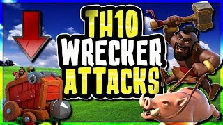 THE WALL WRECKER IS CHANGING TH10 ATTACKING STRATEGIES FOR GOOD | Clash of Clans