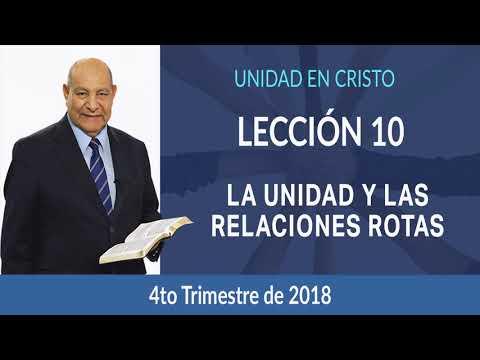 Pr. Bullon - Lección - 10 - La unidad y las relaciones rotas