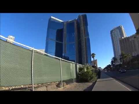 The Unfinished Fontainebleau Hotel & Casino Resort in Las Vegas 2016
