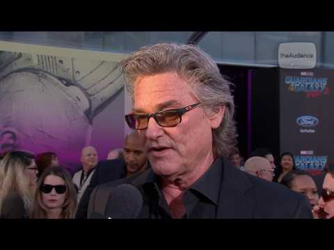 Kurt Russell Talks Ego at the Guardians of the Galaxy Vol. 2 Red Carpet Premiere