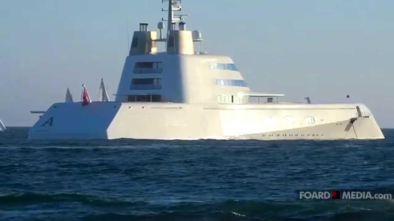 Russian Billionaire S 300 Million Stealth Yacht Prowls Venice Beach Ca