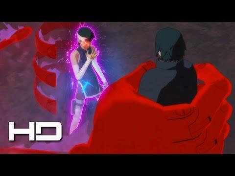 Sarada Awakens Mangekyou Sharingan Vs Adult Sasuke Naruto Ultimate Ninja Storm 4 Road To Boruto Youtube