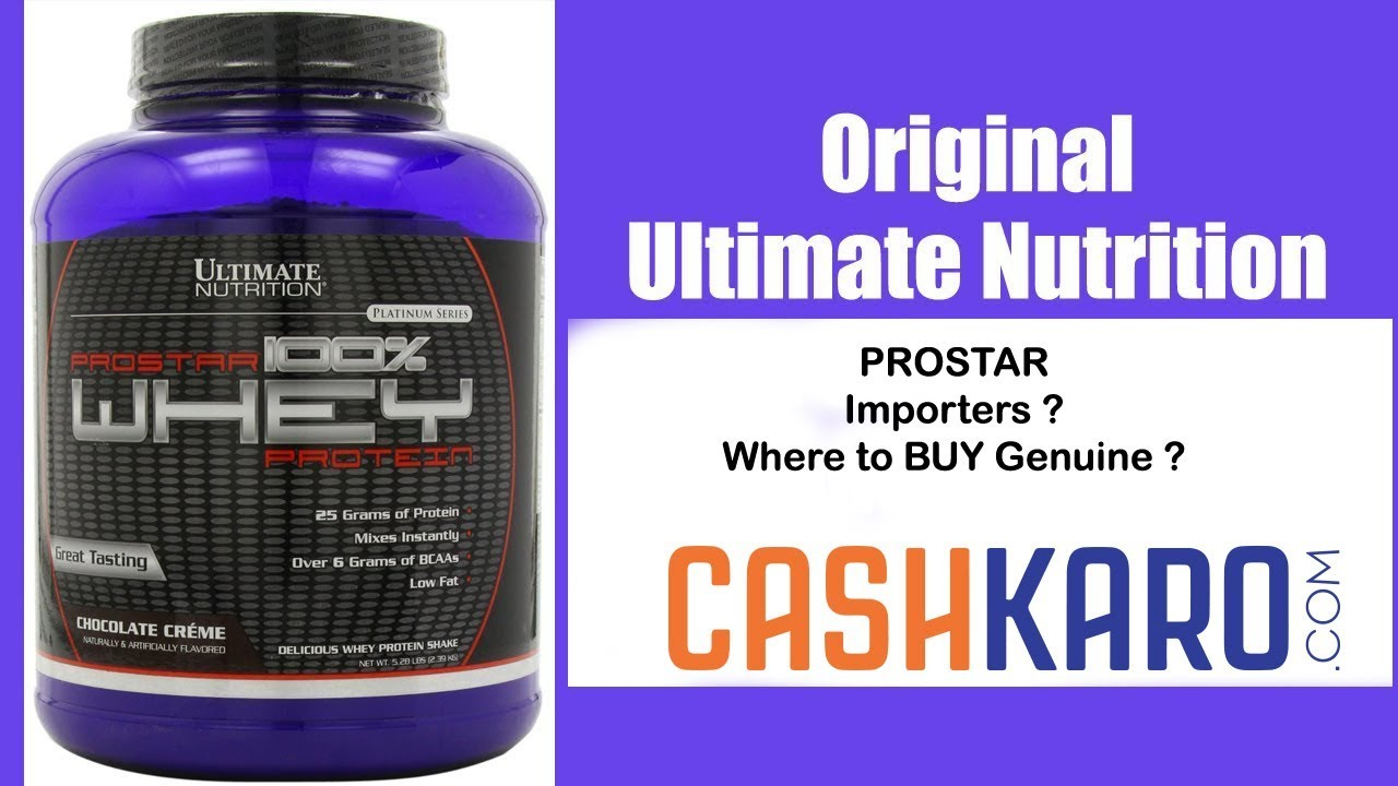 Official importers | Ultimate Nutrition Prostar | | Nutrition India | Updated : must watch