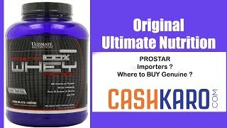 | Official importers | Ultimate Nutrition Prostar | | Nutrition India | Updated : must watch
