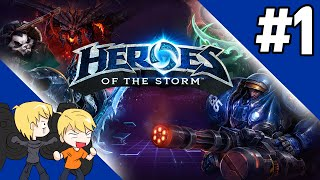Funny Moments - Heroes of the Storm - The Caffiends