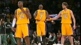 Finali NBA Lakers - Celtics gara 4 2008 Tranquillo Buffa