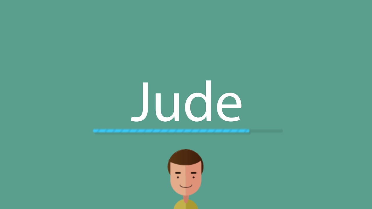 what does jude mean in german