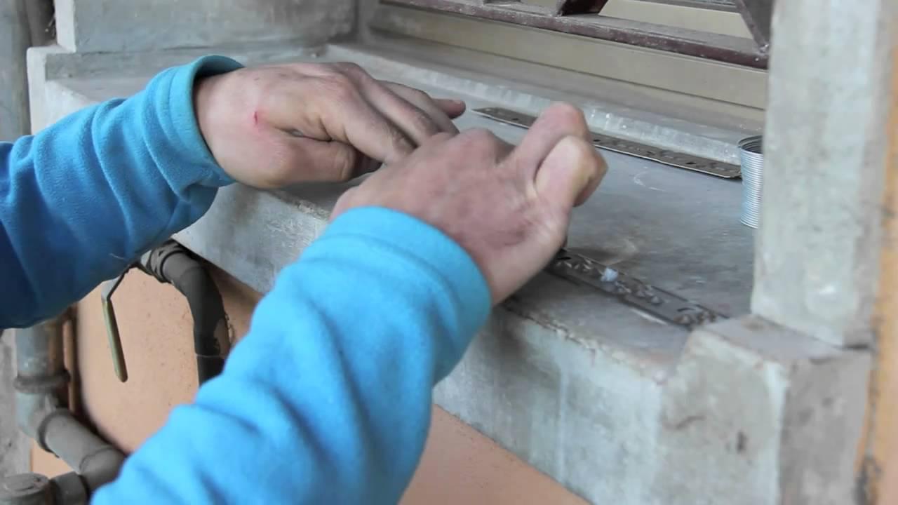 Dissuasore per piccioni da balcone - YouTube