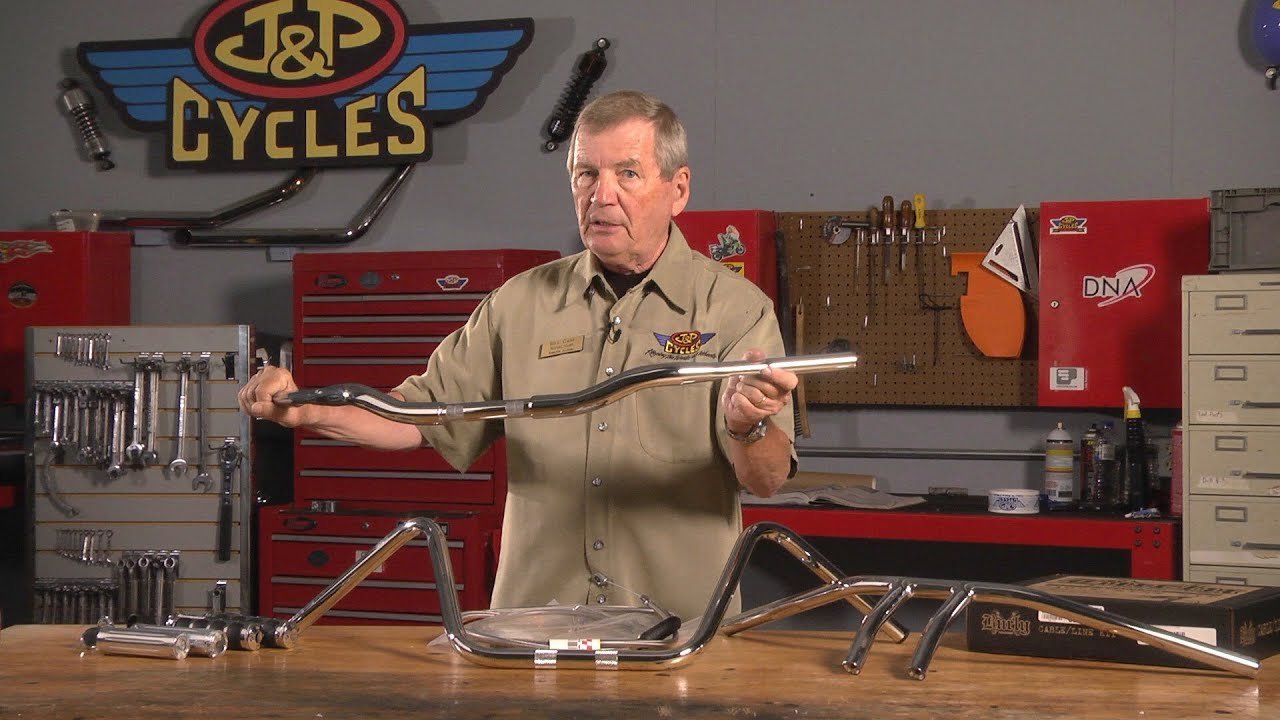 Choosing The Right Handlebars Accessories By Jp Cycles Youtube Wiring Diagram 2000 Road Glide