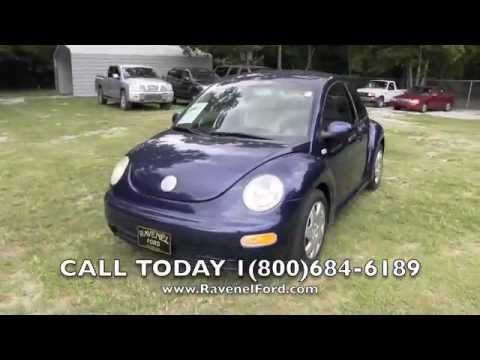 2003 Volkswagen Beetle GL 5 Speed Manual Review Car Videos * For Sale @ Ravenel Ford SC