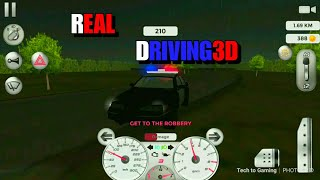 Real Driving 3D | Android GamePlay Full HD #HighSpeedDriving & #GetToTheRoberyAsFastAsPossible