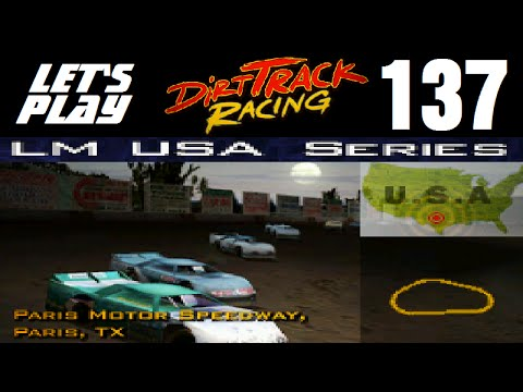 Let's Play Dirt Track Racing - Part 137 - Y11R9 - Paris Motor Speedway