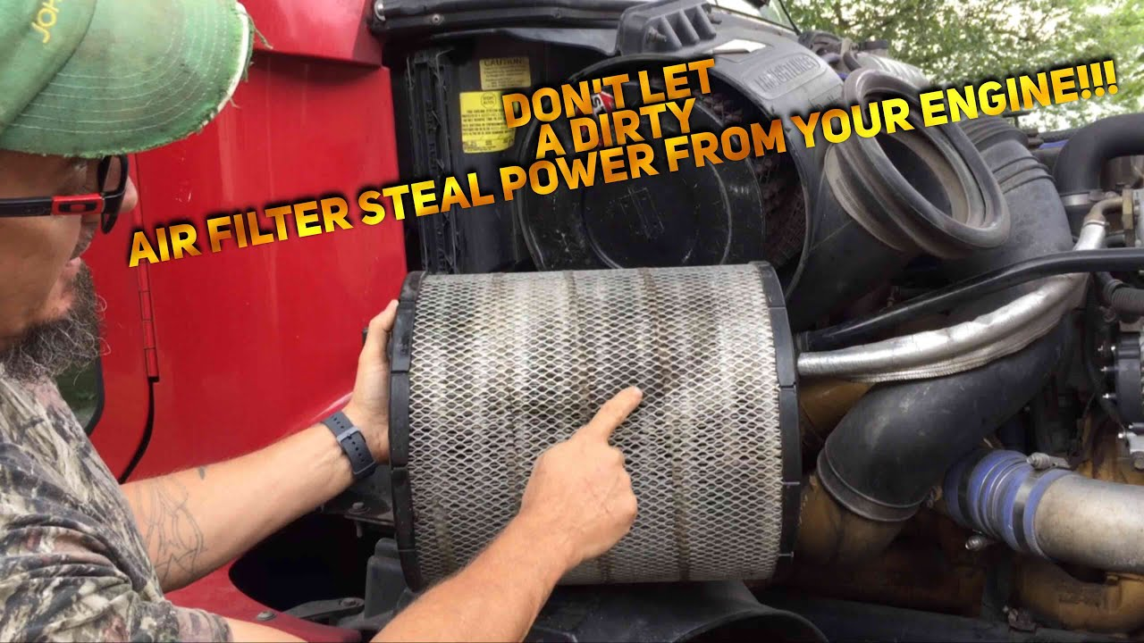 hight resolution of how to change your air filter on a freightliner century youtubehow to change your air filter