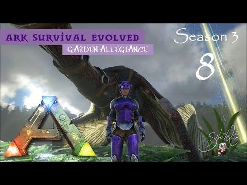 Ark Survival Evolved: Garden Allegiance 8 | Update, Crop Plots and Candles!