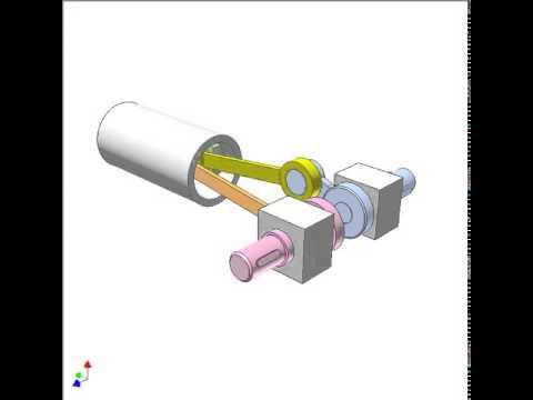 Bar mechanism for reversing rotation 3