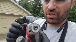 Auto glass milwaukee multi tool . Windshield Cut Out Tool