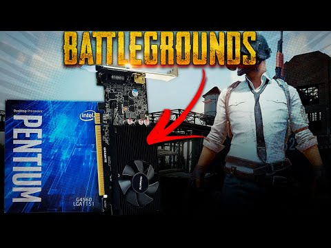 Será que Roda???? Battlegrounds no Pentium G4560 + GT 1030 2GB