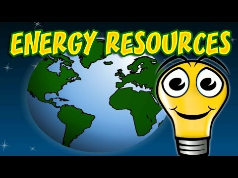 Different Sources of Energy, Using Energy Responsibly, Educational Video for Kids