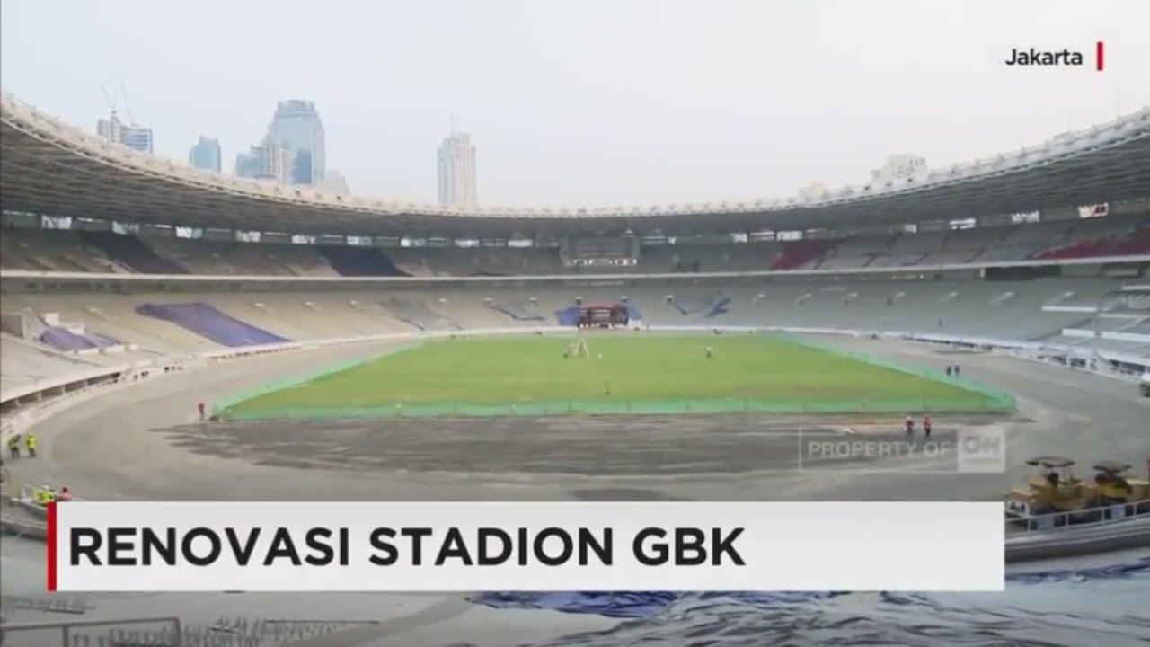 Wajah Baru Stadion Gbk Jelang Asian Games 2018 Youtube