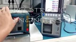 WE PROVIDE MIYACHI MAKE SPOT WELDING CONTROLLER AND WELD CHECKER FO...