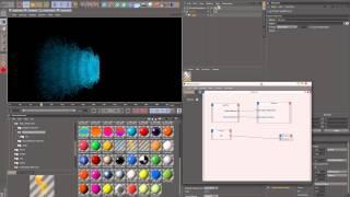 Tutorial cinema 4d r13 Expresso particles (видео урок)