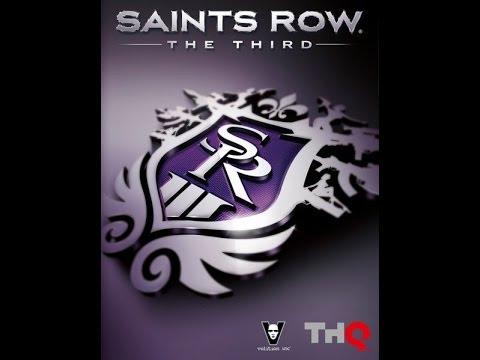 Прохождение игры Saints Row 3 The Third №2 (Побег из Самолёта)