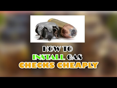 Installing Gas Checks Cheaply